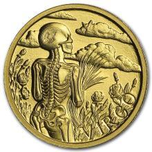1/10 oz Gold Round Zodiac Series - Virgo #22505v3