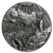 2 oz Silver Coin - Biblical Series (New Jerusalem) #31080v3