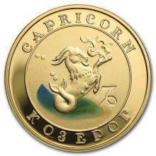 2008 Armenia Gold 10000 Drams Zodiac Series (Capricorn) #22510v3