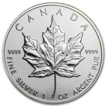 1997 Canada 1 oz Silver Maple Leaf BU #21982v3