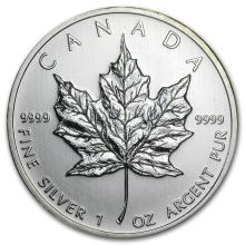 2010 Canada 1 oz Silver Maple Leaf BU #21976v3