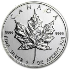 1999 Canada 1 oz Silver Maple Leaf BU #21973v3