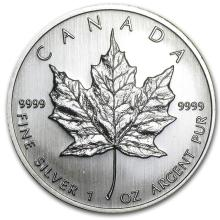 2008 Canada 1 oz Silver Maple Leaf BU #21978v3