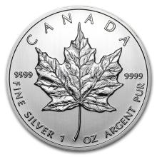 2012 Canada 1 oz Silver Maple Leaf BU #21975v3