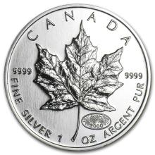 2000 Canada 1 oz Silver Maple Leaf BU #21984v3