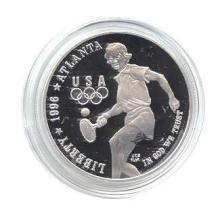 US Commemorative Dollar Proof 1996-P Tennis #28942v3