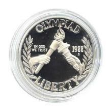 US Commemorative Dollar Proof 1988-S Olympic #28965v3