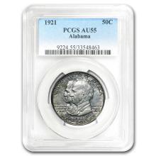 1921 Alabama Centennial Commemorative Half AU-55 PCGS #31299v3