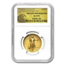 2009 Ultra High Relief Double Eagle MS-70 PL NGC (Gold Label) #22730v3