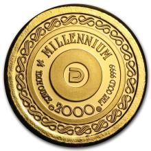 1/4 oz Gold Round - Secondary Market #22458v3