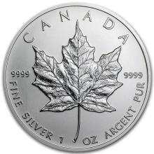 2013 Canada 1 oz Silver Maple Leaf BU #21969v3