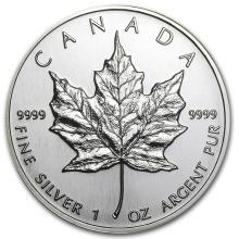 1994 Canada 1 oz Silver Maple Leaf BU #21970v3