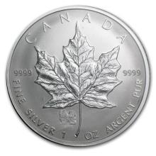 2006 Canada 1 oz Silver Maple Leaf Lunar DOG Privy #22003v3
