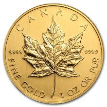 2006 Canada 1 oz Gold Maple Leaf BU #22940v3
