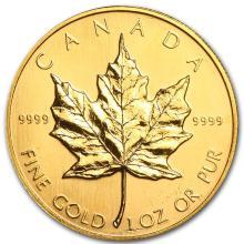 1997 Canada 1 oz Gold Maple Leaf BU #22937v3