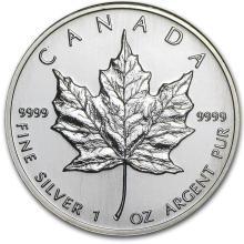 1995 Canada 1 oz Silver Maple Leaf BU #21989v3
