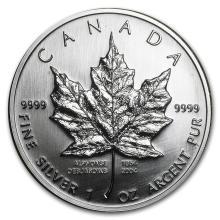 2004 Canada 1 oz Silver Maple Leaf (Desjardins 150th Ann) #22006v3