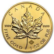 2013 Canada 1 oz Gold Maple Leaf BU #22936v3
