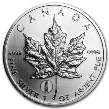 2012 Canada 1 oz Silver Maple Leaf Leaning Tower of Pisa Privy #21999v3