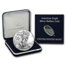 2016 1 oz Silver American Eagle BU (w/U.S. Mint Box) #21395v3