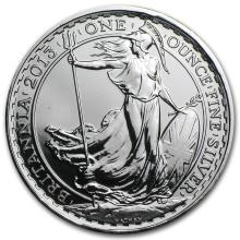 2013 1 oz Silver Britannia BU (w/Year of the Snake Privy Mark) #22302v3