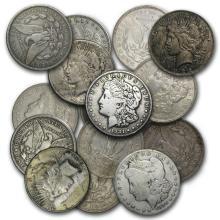 Morgan or Peace Silver Dollars Culls #22050v3
