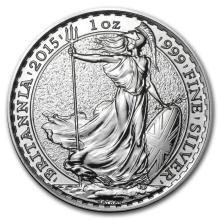 2015 Great Britain 1 oz Silver Britannia BU #22300v3