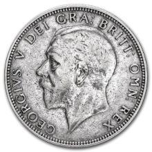 1920-1936 Great Britain Silver Florin George V #22306v3