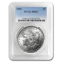 1890 Morgan Dollar MS-63 PCGS #22129v3