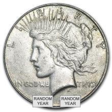 1922-1935 Peace Silver Dollars VG-XF #22049v3