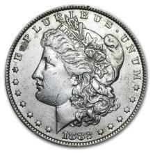 1882-O/S Morgan Dollar AU-50 #22133v3