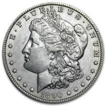 1896-O Morgan Dollar AU #22134v3