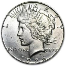 1926-S Peace Dollar BU #22130v3