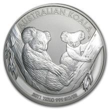 2011 Australia 1 kilo Silver Koala BU #22366v3