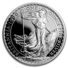 1998 Great Britain 1 oz Silver Proof Britannia #22340v3