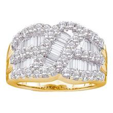 14KT Yellow Gold 2.00CTW DIAMOND FASHION BAND #55105v2