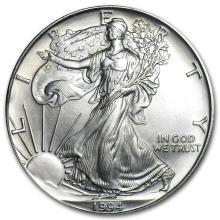 1994 1 oz Silver American Eagle BU #21408v3