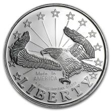 1 oz Silver Round - Liberty Eagle #21639v3