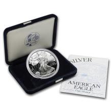 2000-P 1 oz Proof Silver American Eagle (w/Box & COA) #21406v3