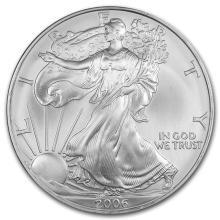 2006 1 oz Silver American Eagle BU #21383v3