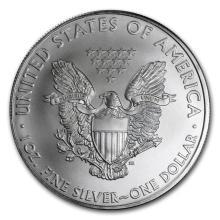 2010 1 oz Silver American Eagle BU #21386v3