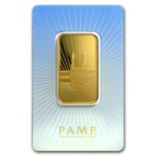 1 oz Gold Bar - PAMP Suisse Religious Series (Ka' Bah, Mecca) #22481v3