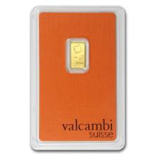 1 gram Gold Bar - Valcambi (In Assay) #22410v3