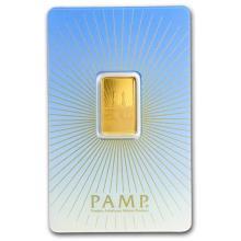 5 gram Gold Bar - PAMP Suisse Religious Series (Ka' Bah, Mecca) #22489v3