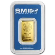 10 gram Gold Bar - Sunshine Minting New Design (In TEP Packaging) #22463v3