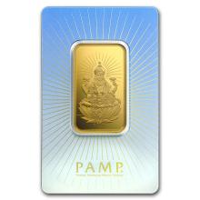 1 oz Gold Bar - PAMP Suisse Religious Series (Lakshmi) #22453v3