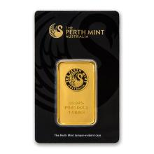 1 oz Gold Bar - Perth Mint (In Assay) #22392v3