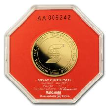 1 oz Gold Round - Scotiabank (In Assay) #22460v3