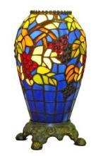 TIFFANY-STYLE GRAPES TABLE LAMP 13-INCH TALL #99524v2