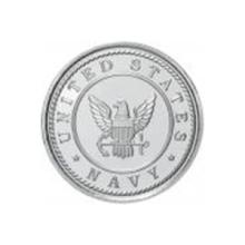 US Navy .999 Silver 1 oz Round #99145v2